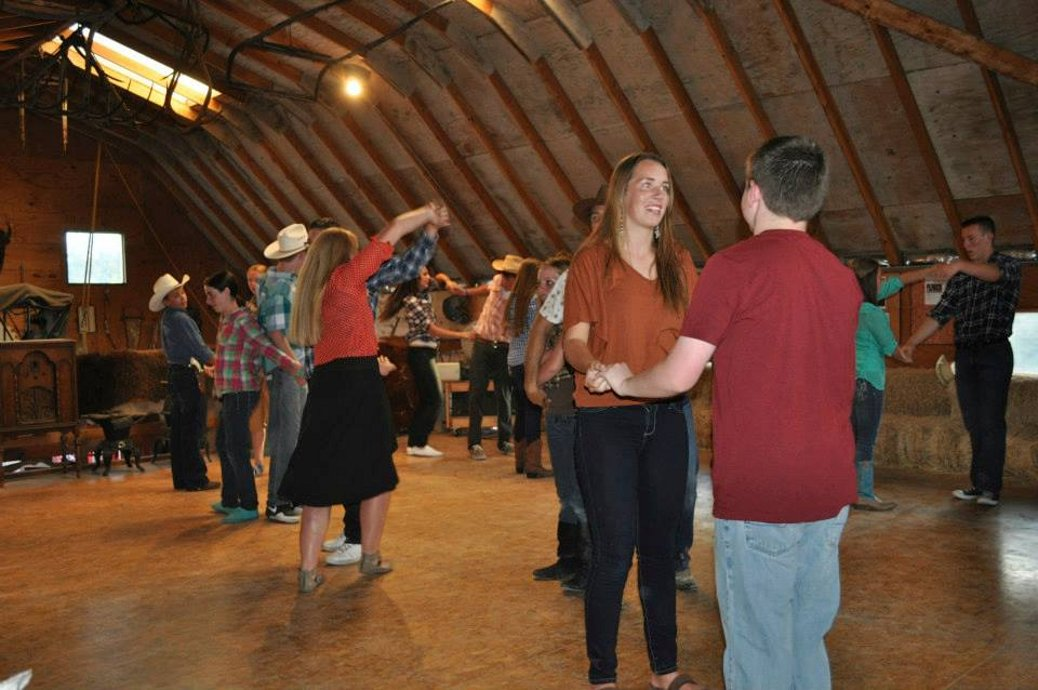 Square Dancing in the Loft