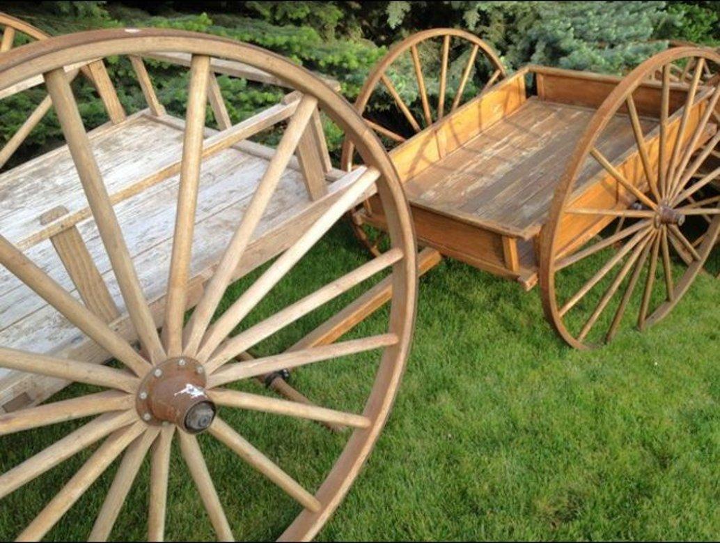 two handcarts