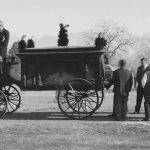 Hearse - Black & White Image
