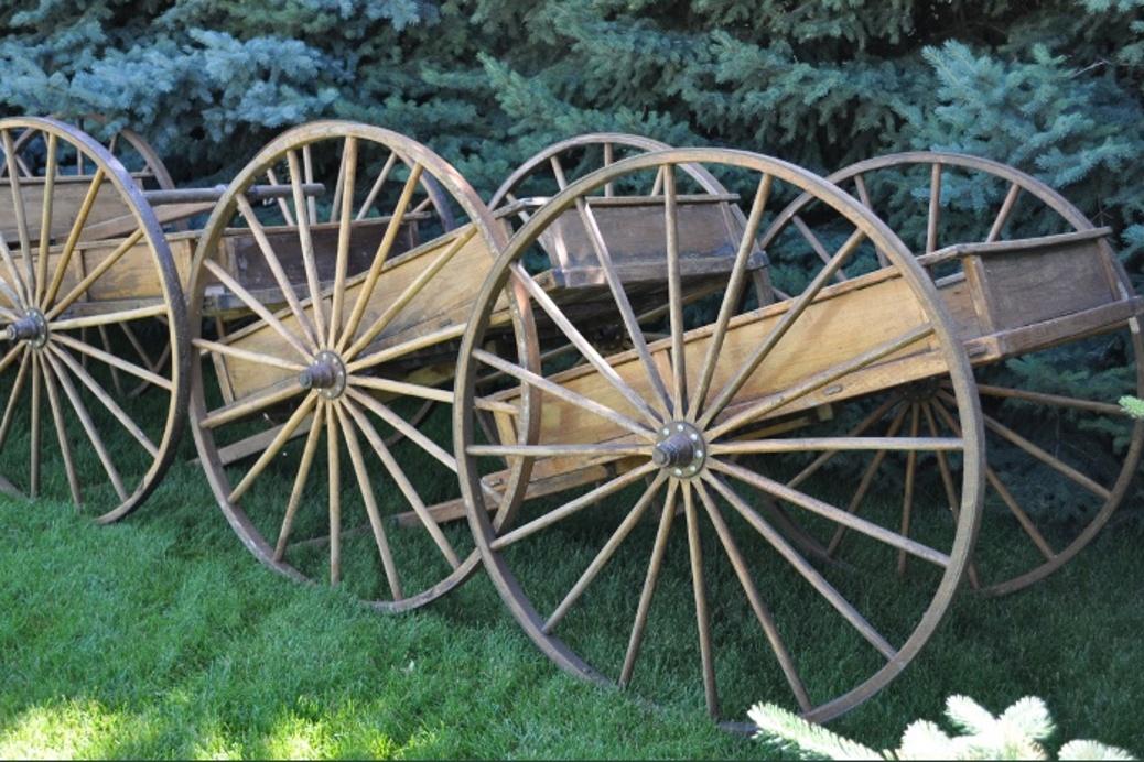 handcart side view