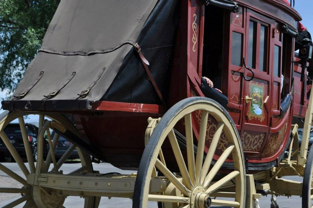 Stagecoach Up Close